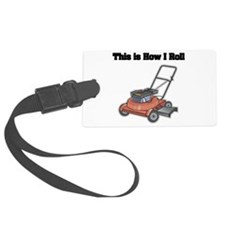 law mower.png Luggage Tag