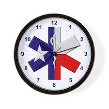 Texas EMT Wall Clock