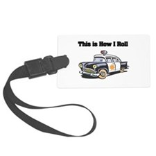 police car.png Luggage Tag