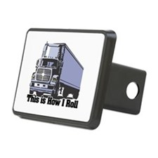 tractor trailer.png Hitch Cover