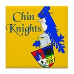 Chin Knights Tile Coaster