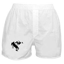 Bucking Bronco Cowboy Boxer Shorts