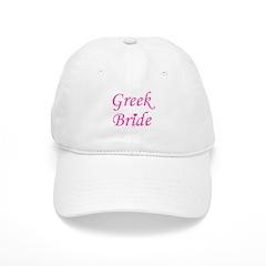 Greek Bride Baseball Cap