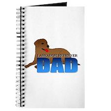 Chocolate Labrador Retriever Dad Journal