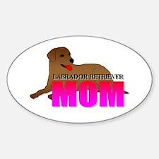 Labrador Retriever Mom Decal