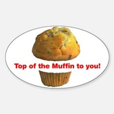 Muffin Top - Oval Decal