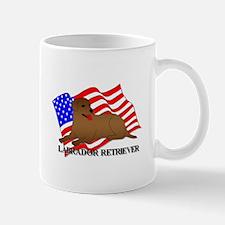 Labrador Retriever USA Mug
