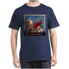 The Red Baron Black T-Shirt
