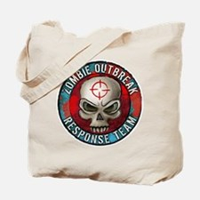 Zombie Outbreak Response Team Tote Bag
