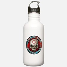 Zombie Outbreak Response Team Sports Water Bottle