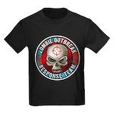 Zombie Kids T-shirts (Dark)