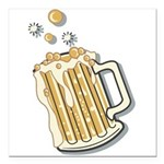 beer.png Square Car Magnet 3
