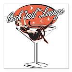 cocktail.png Square Car Magnet 3