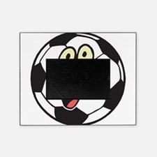 happy soccer ball belly.png Picture Frame