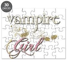 Vampire Girl Sparkly Puzzle
