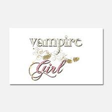Vampire Girl Sparkly Car Magnet 20 x 12