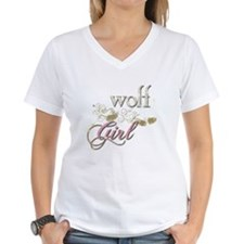 Wolf Girl Sparkly Shirt