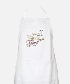 Wolf Girl Sparkly Apron