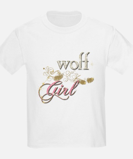 Wolf Girl Sparkly T-Shirt