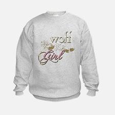 Wolf Girl Sparkly Sweatshirt