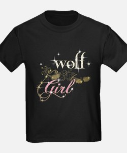 Wolf Girl Sparkly T