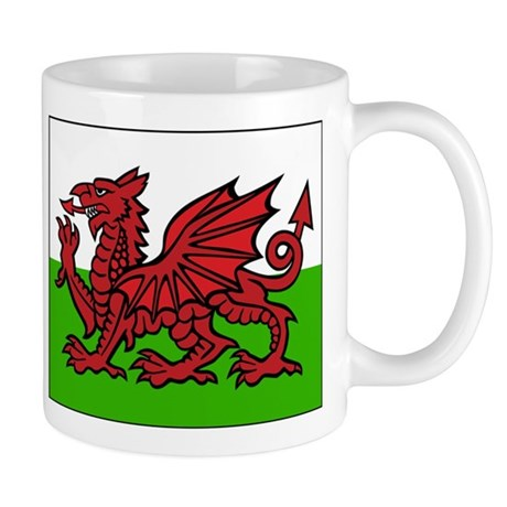 Welsh Flag Mug