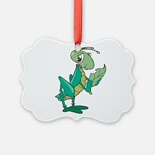 cute grasshopper eating leaf copy.jpg Ornament