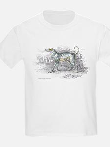 Dalmatian Dog (Front) Kids T-Shirt
