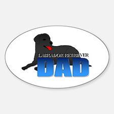 Labrador Retriever Dad Decal