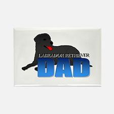 Labrador Retriever Dad Rectangle Magnet