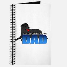 Black Labrador Retriever Dad Journal