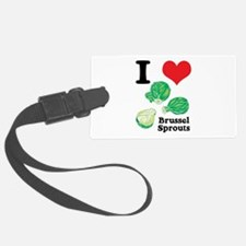 3-brussel sprouts.jpg Luggage Tag
