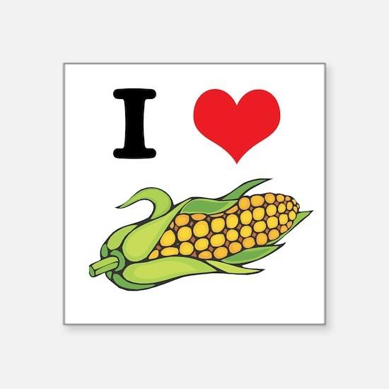 "corn.jpg Square Sticker 3"" x 3"""