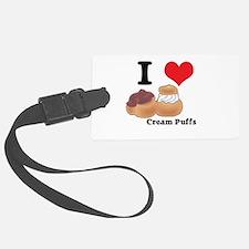 cream puffs.jpg Luggage Tag
