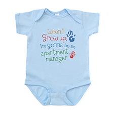 Future Apartment Manager Infant Bodysuit