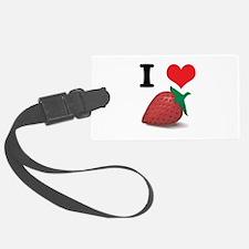 strawberries.jpg Luggage Tag