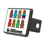 Be Different Ducks.png Rectangular Hitch Cover