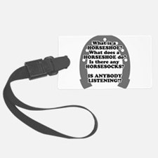 what is a horseshoe.png Luggage Tag