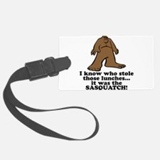 sasquatch stole lunches.png Luggage Tag