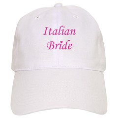 Italian Bride Baseball Cap