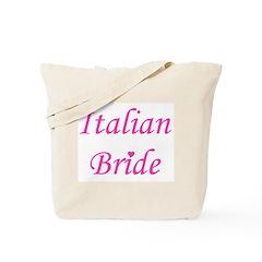 Italian Bride Tote Bag