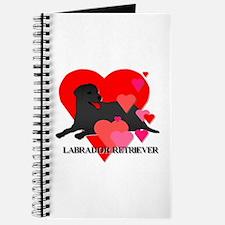 Black Labrador Retriever Journal