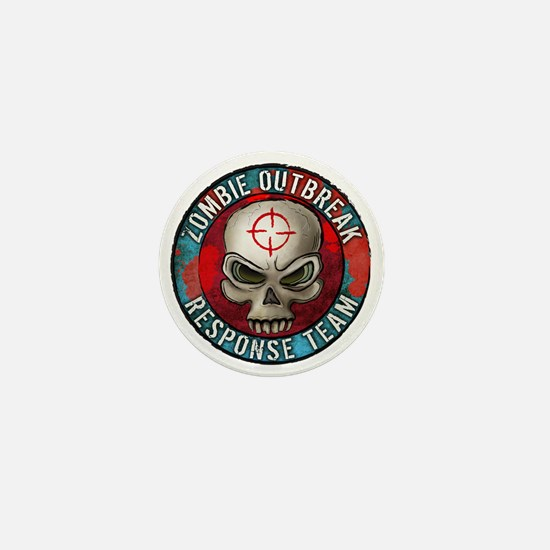 Zombie Outbreak Response Team Mini Button
