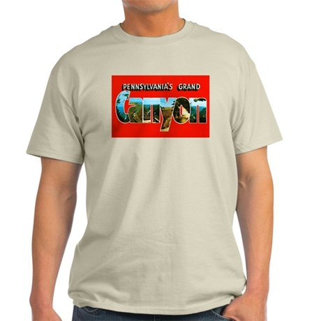 Pennsylvania's Grand Canyon Light T-Shirt