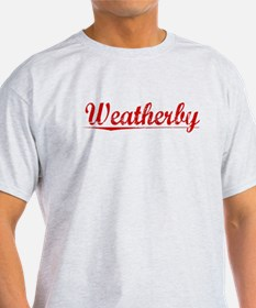 Weatherby, Vintage Red T-Shirt