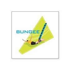 """bungee jumping graphic copy.jpg Square Sticker 3"""""""