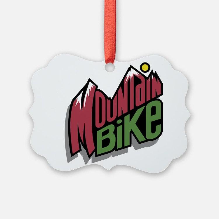 mountain bike graphic copy.jpg Ornament