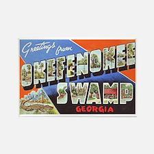 Okefenokee Swamp Greetings Rectangle Magnet