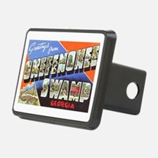 Okefenokee Swamp Greetings Hitch Cover