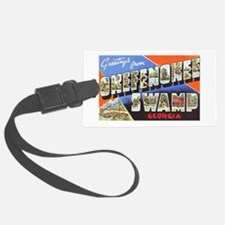 Okefenokee Swamp Greetings Luggage Tag